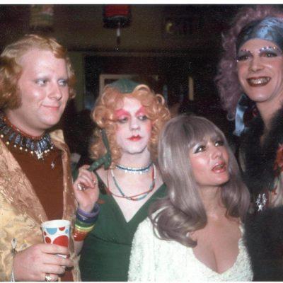Kreemah, Prissy & Goldie with Carol Doda - Photo by Clay Gerdes