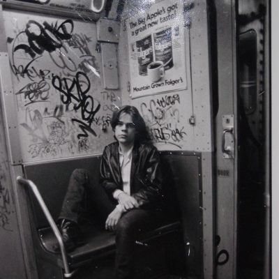David Johansen NYC 1978 Photo by Roberta Bayley